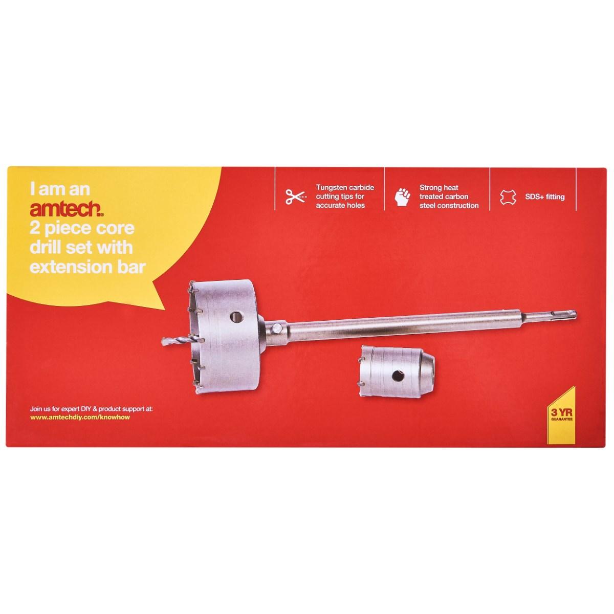Am-Tech 350 mm SDS Extension Bar