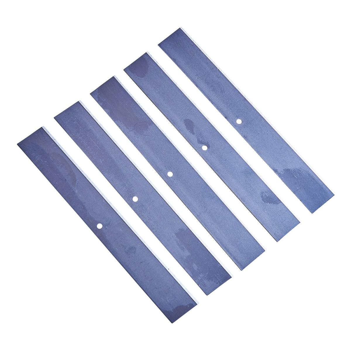 5pc Heavy Duty Wallpaper Scraper Blades Amtech