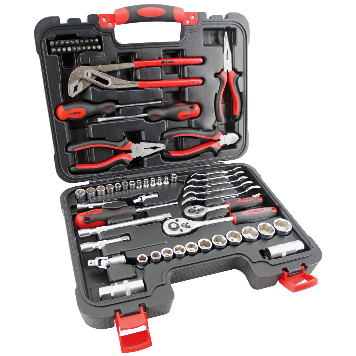 Image of 65pc assorted tool kit