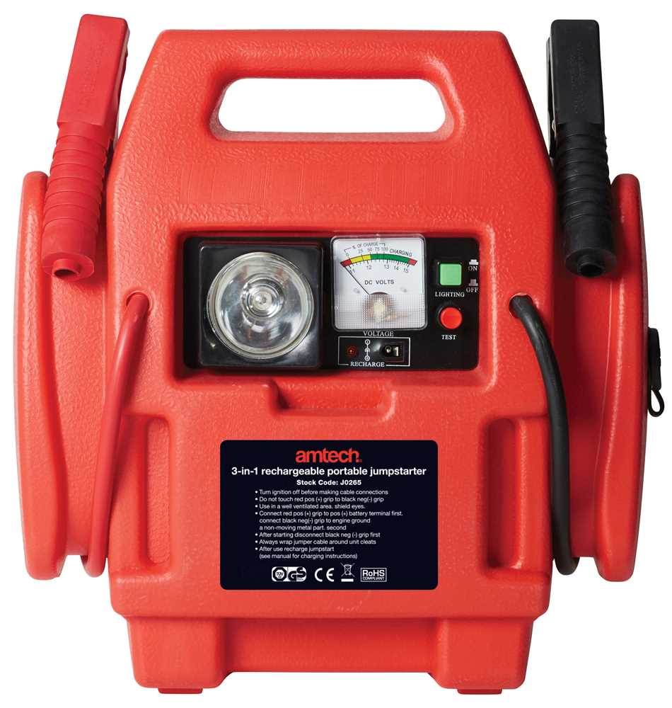 Get the right tool for the job  sc 1 st  Amtech Tools & 3-in-1 rechargeable portable jumpstarter - Amtech azcodes.com