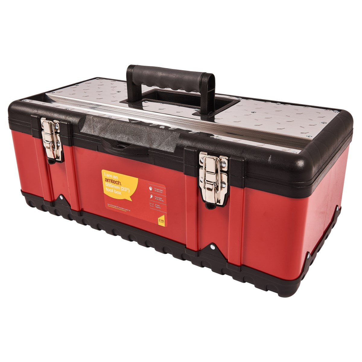 Image of 23″ metal tool box