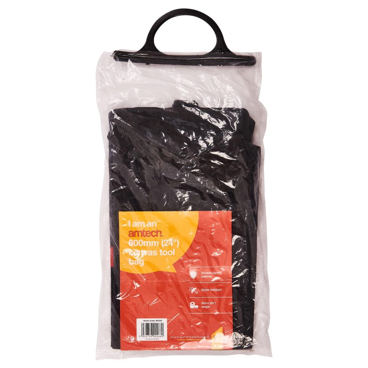 "24/"" Heavy Duty Multi Purpose DIY Tool Box Storage Bag Water Resistant 60cm 600mm"