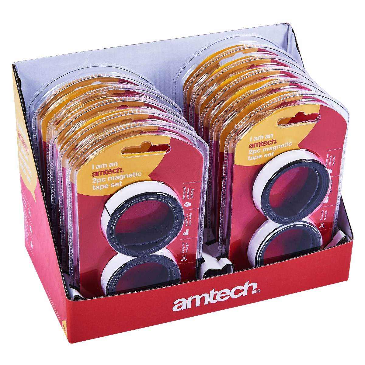 2pc magnetic tape - Amtech