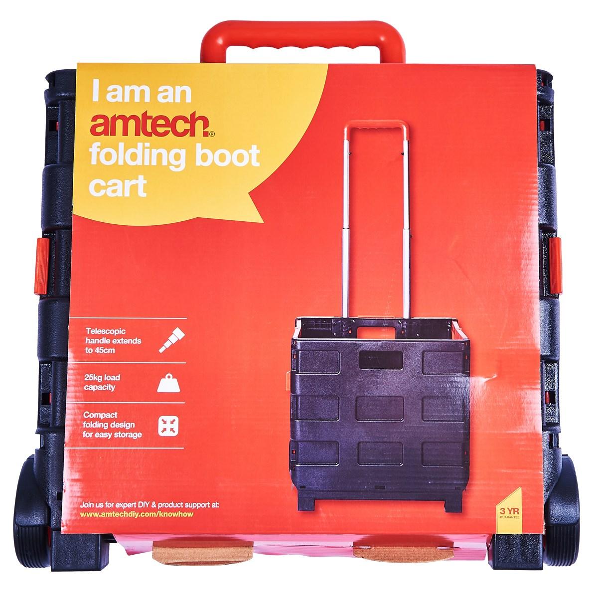 folding boot cart - Amtech