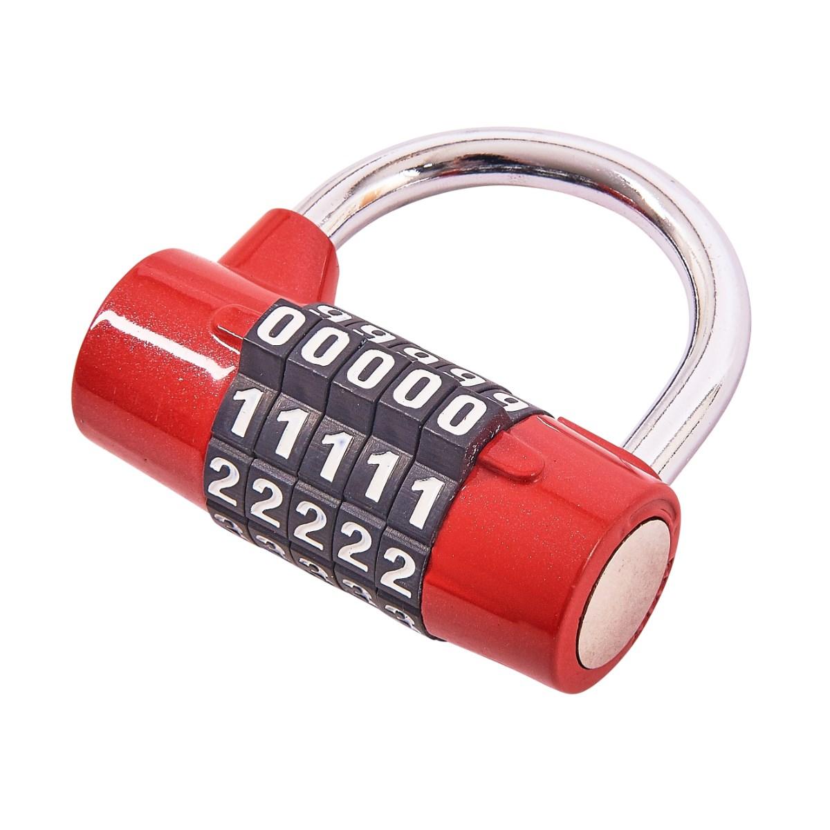 0ce2011131a6 5 digit combination padlock - Amtech