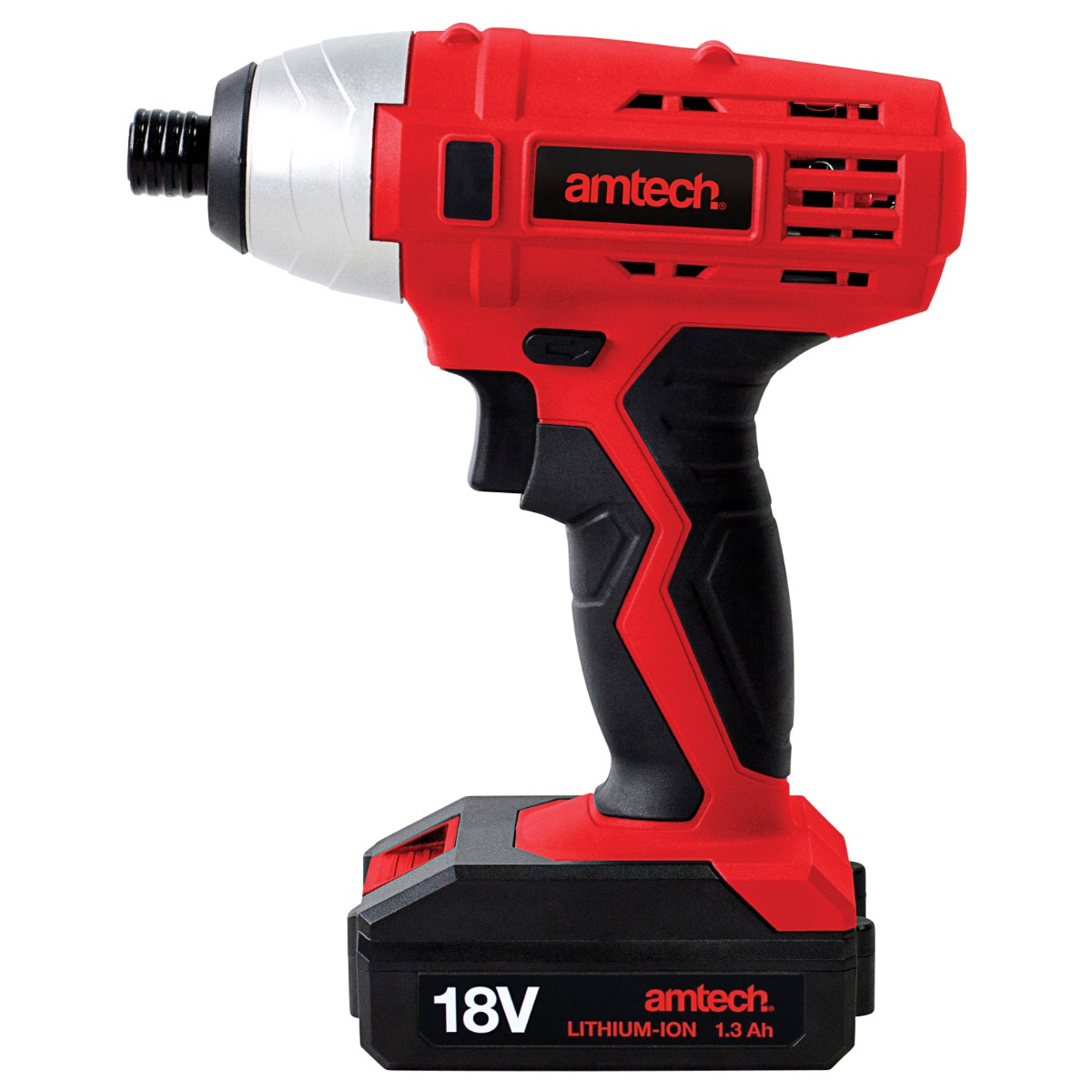 AMTECH 18V LI-ION CORDLESS COMBI DRILL DRIVER 1 HOUR FAST CHARGE HAMMER